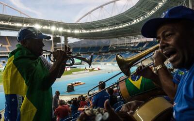 Las autoridades brasileñas han insistido en que los Juegos no serán post...
