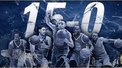 """""""Ahora que hemos empatado el récord, es un enorme logro"""", dijo Curry."""