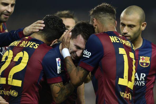 Finalmente llegó el gol de Messi. No le dio para alcanzar a Zarra, pero...