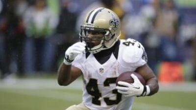 Darren Sproles podría ser cambiado de los Saints (AP-NFL).