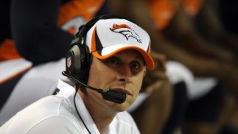 Adam Gase es el actual coordinador ofensivo de los Broncos (AP-NFL).