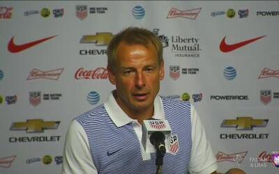 """Jurgen Klinsmann: """"Fue un buen test jugar contra Ecuador"""""""