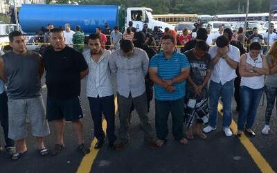 Operación exitosa permite captura de Maras en El Salvador