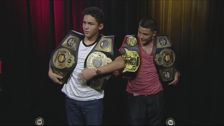 Campeones juveniles de boxeo, promesas del futuro