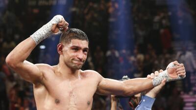 Khan enfrentaría a Pacquiao en Dubai.