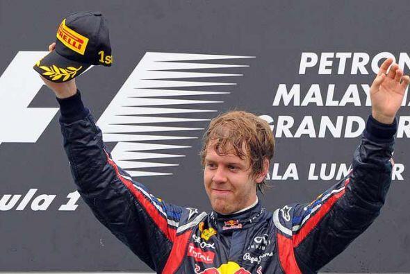 El campeón defensor de la Fórmula 1 tiene muchos motivos para estar feliz.