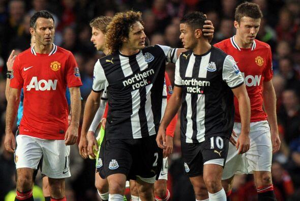 El visitante, Newcastle, festejó mientras los locales quedaron go...