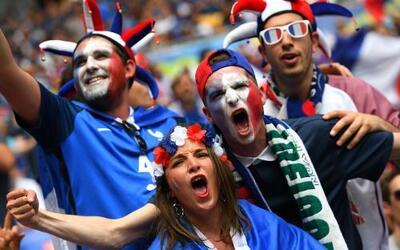 El colorido francés marcó la Eurocopa