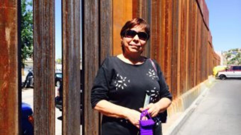 María Diaz Rodriguez estuvo detenida en un centro para indocumentados de...