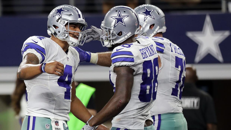 Cowboys aseguran lugar en playoffs