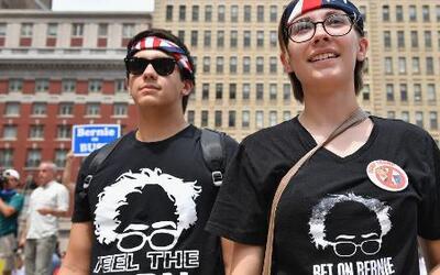 Los seguidores de Bernie Sanders que no se dejan convencer para votar po...