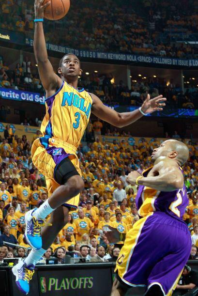 10 - Chris Paul, el alma de los Hornets de Nueva Orleans. No sólo anota,...