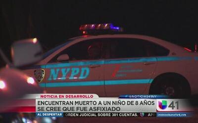 Policía cree que niño murió asfixiado