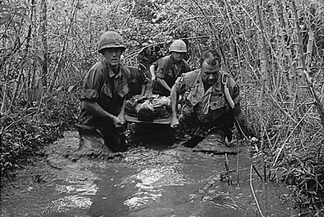 Guerra de Vietnam. Participaron ocho millones 744 mil elementos de las F...