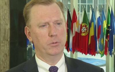 """Michael Fitzpatrick: """"El gobierno de Estados Unidos está muy preocupado..."""