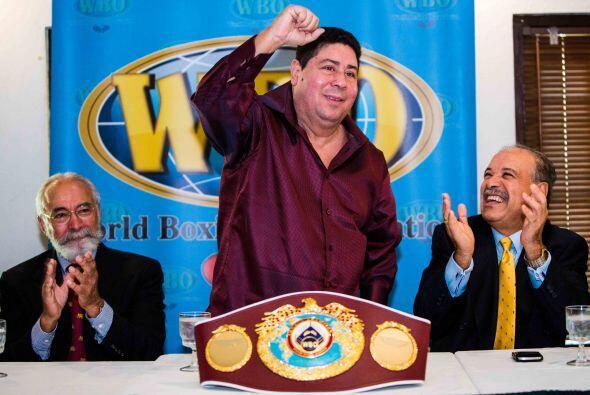Wilfredo Gómez recibió homenaje por parte de la OMB a 37 años de conquis...