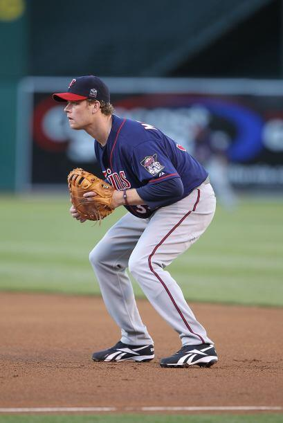 Justin Morneau, primera base de los Twins, fue elegido por primera vez e...