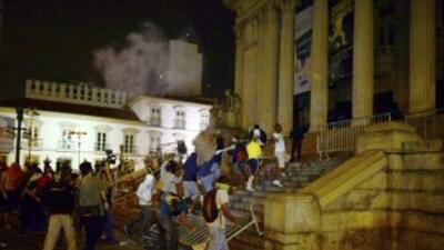 Manifestaciones Brasil.