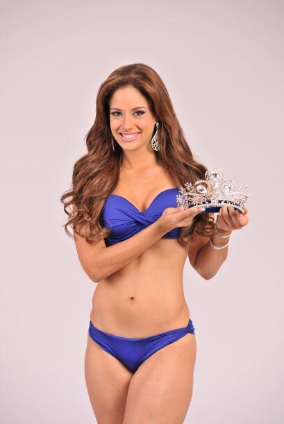 Por eso la bella reina de Nuestra Belleza Latina decidió mostrarnos una...