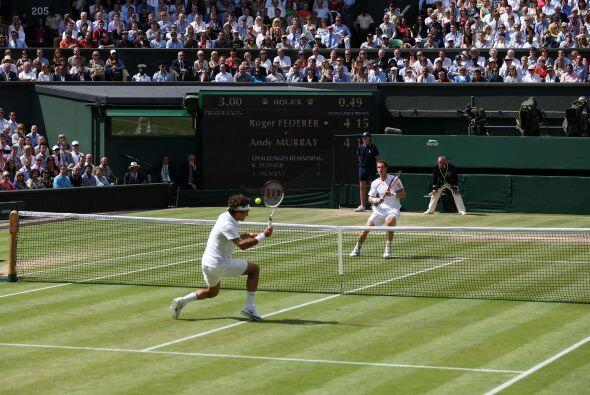 Murray estuvo arriba en el segundo, con cuatro ocasiones para hacer el b...