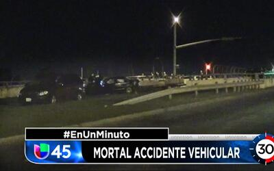 En Un Minuto Houston: Un accidente que se registró la madrugada de este...