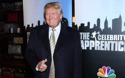 "Su reality show ""The Apprentice"" lo dio a conocer en el mundo..."