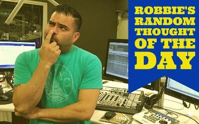 Robbie's Random Thoughts: Don't Text and Drive
