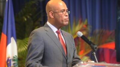 Haití con su presidente Martelly