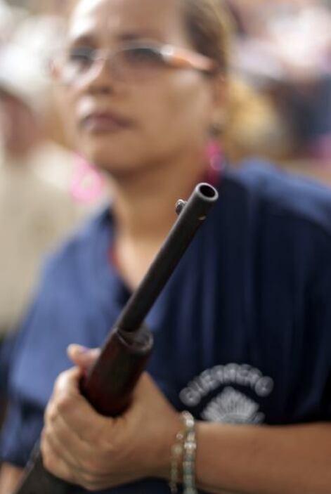A algunas de estas mujeres la ola de violencia les quitó a sus hijos, es...
