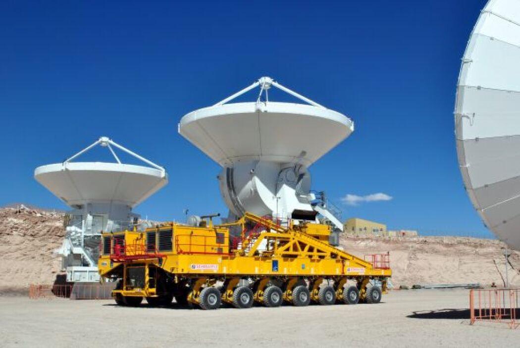 Se ha elegido el desierto de Atacama por ser una de las regiones más sec...