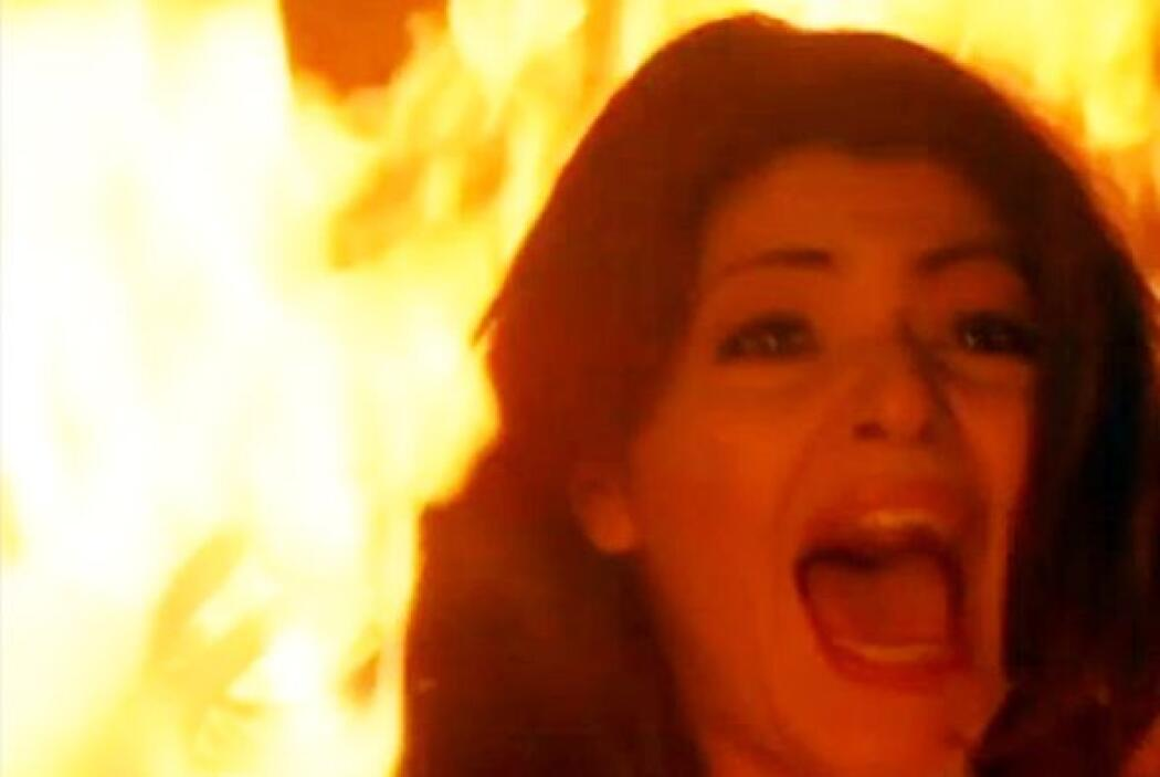 """La muy burra quería matar a """"María"""" y """"Luis Fernando"""" pero la que quedó..."""