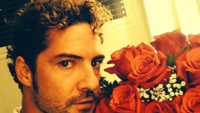 David Bisbal mandó mensajes de amor a su novia