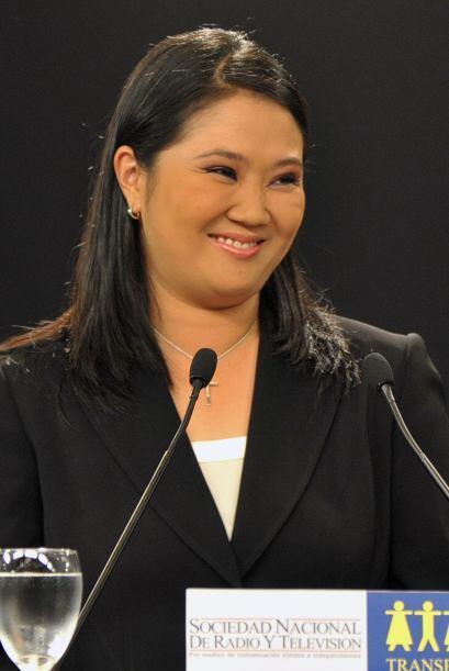 Por su parte, Keiko Fujimori resaltó los más notables logros del gobiern...