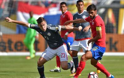 Insípido empate sin goles entre Costa Rica y Paraguay en cierre de 1a jo...