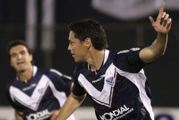 Reapareció Guillermo Franco en Vélez Sarsfield luego de va...
