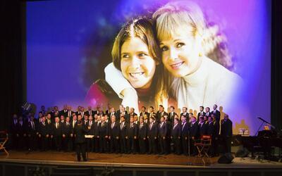 Ceremonia de homenaje póstumo a las actrices Debbie Reynolds y Ca...