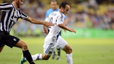 El Galaxy sorprendió a la Juventus.