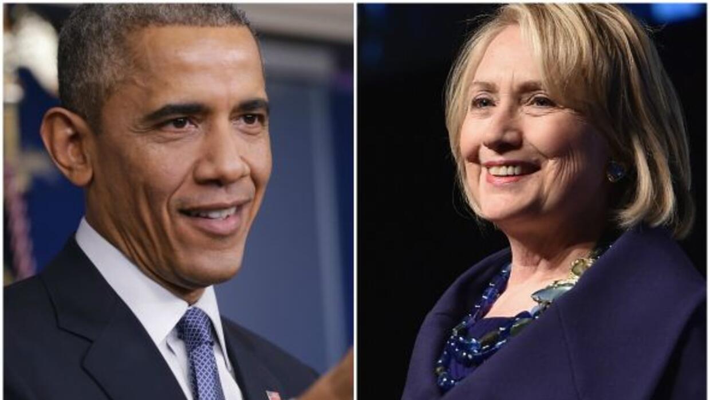 Una encuesta realizada recientemente, reveló que Hillary Clinton y Barac...
