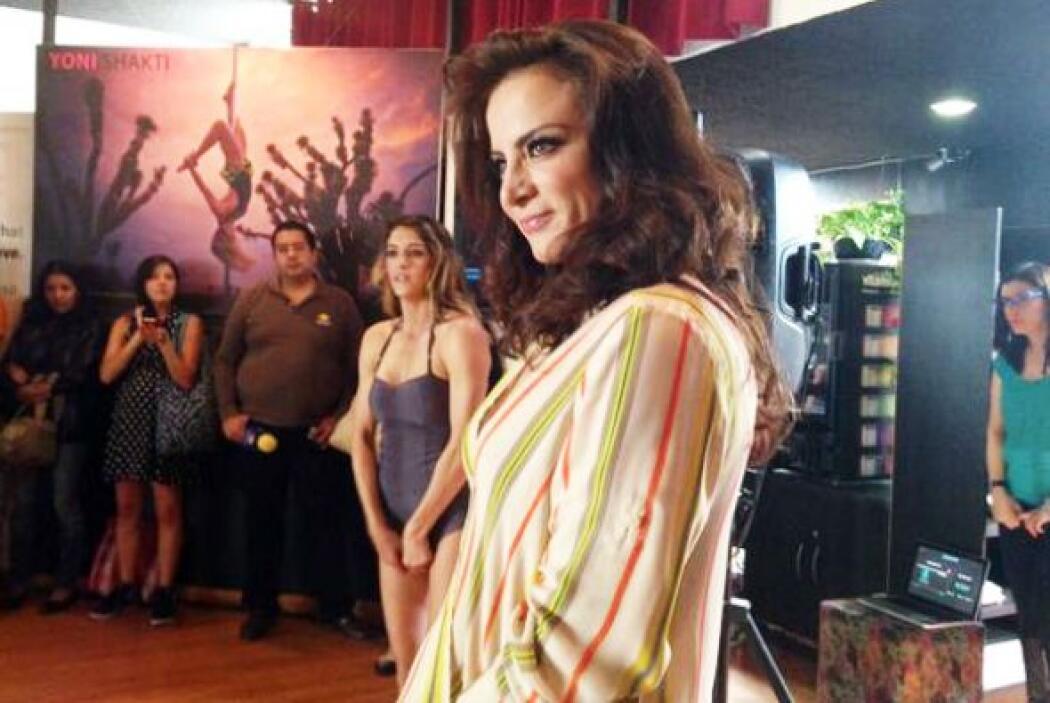 En esta telenovela interpretará a una sexy y exótica bailarina.