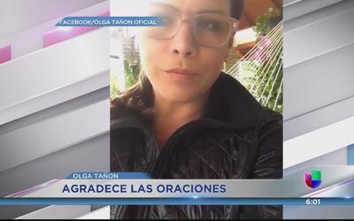 Mejora la salud de la hija de Olga Tañón
