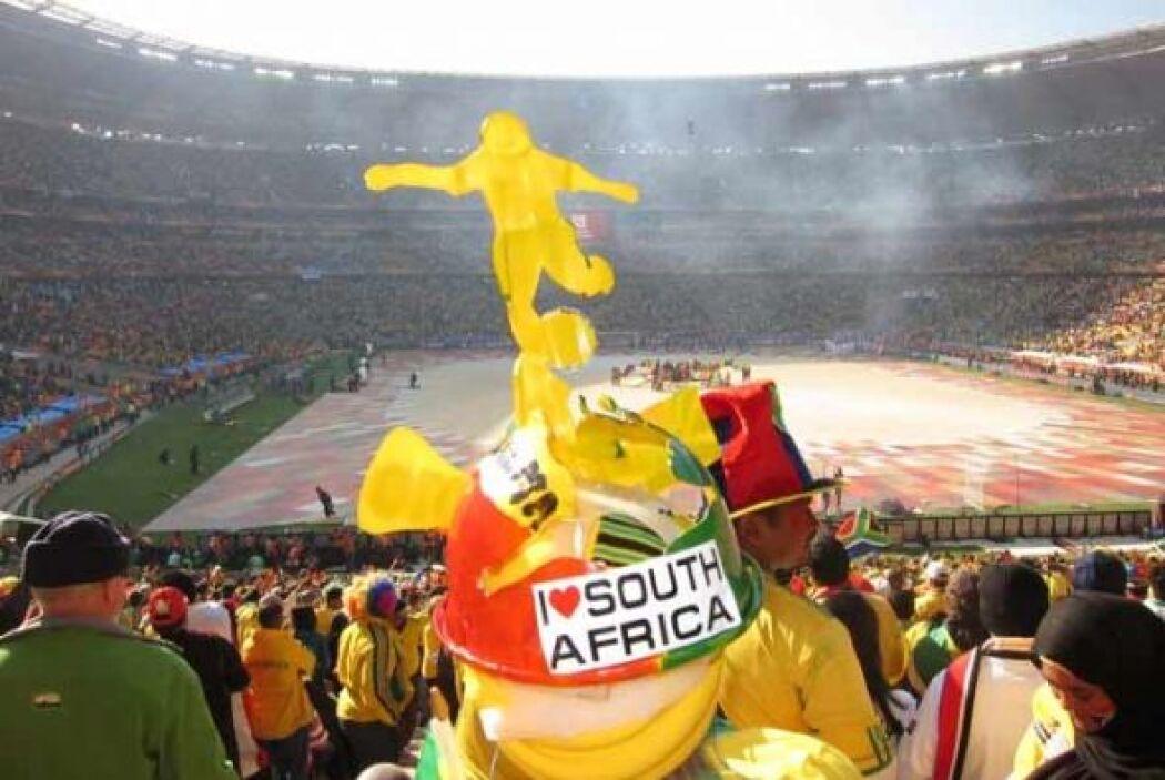 El Mundial Sudáfrica 2010 es el orgullo de todos sus habitantes.