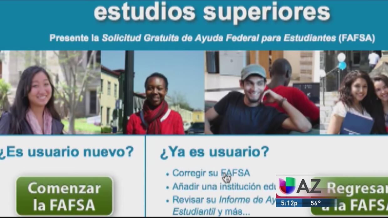 ¿Pueden los beneficiaros de DACA obtener becas de FAFSA?