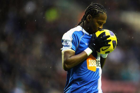 El colombiano Hugo Rodallega anotó uno para el ganador. Wigan venció al...