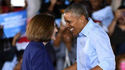 La ex fiscal general y actual candidata al Senado, Catherine Cortez Mast...