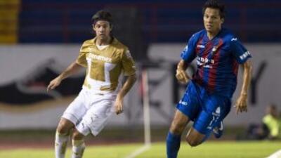 Pumas y Atlante empataron en la Copa MX.
