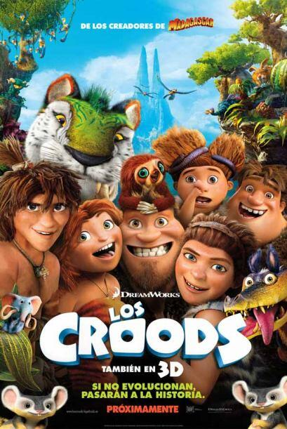 """""""Los Croods"""": Esta película estadounidense de animación es ideal para di..."""