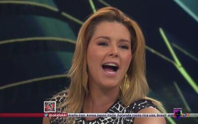 Alicia Machado bateó a Lindsay Casinelli