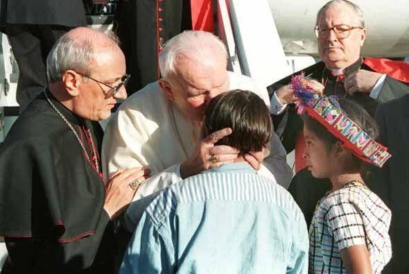 Países latinoamericános visitados por el Papa: Guatemala (...