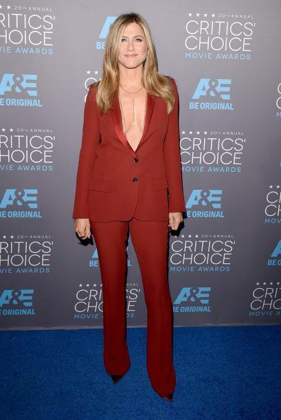 Aunque Jennifer Aniston y Angelina Jolie coincidieron en el evento, jam&...