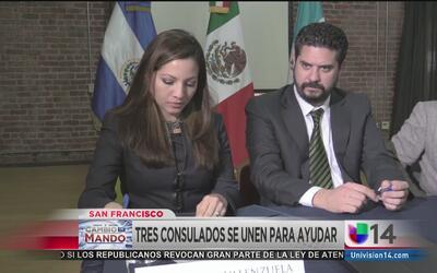 Tres consulados se unen en alianza estratégica